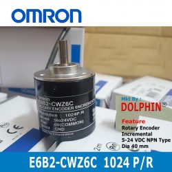 E6B2-CWZ6C 1024 P/R  OMRON Increm...
