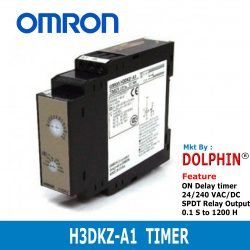 H3DKZ-A1 OMRON On-Delay Timer ...