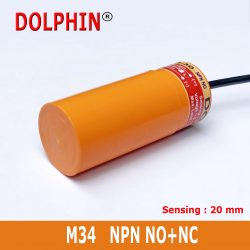 M34 DC Proximity switch  NPN NO+N...