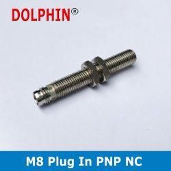 M8 Plug In Sensor PNP NC Make DOL...