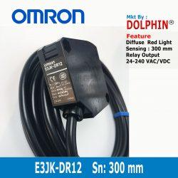 E3JK-DR12 OMRON Diffuse Photo Sen...