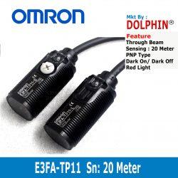 E3FA-TP11 OMRON Through Beam S...