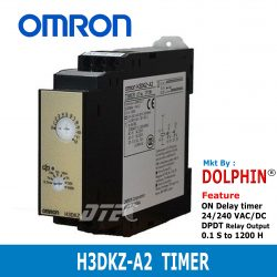H3DKZ-A2 OMRON On-Delay Timer ...