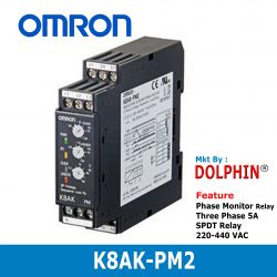 K8AK-PM2 OMRON Phase Monitoring R...