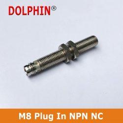 M8 Plug In Sensor NPN NC Make DOL...