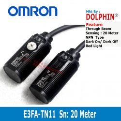 E3FA-DN11 OMRON Through Beam S...