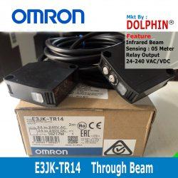 E3JK-TR14 OMRON Through Beam S...