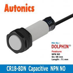 CR18-8DN Autonics Capactive Sensor NPN NO type Sn: 8 mm  Adjustable