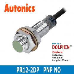 PR12-2DP  Autonics M12 Inductive ...