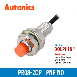 PR08-2DP  Autonics M8 Inductive P...